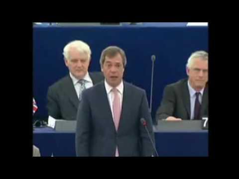 Nigel Farage vs Gordon Brown on The Treaty of Lisbon