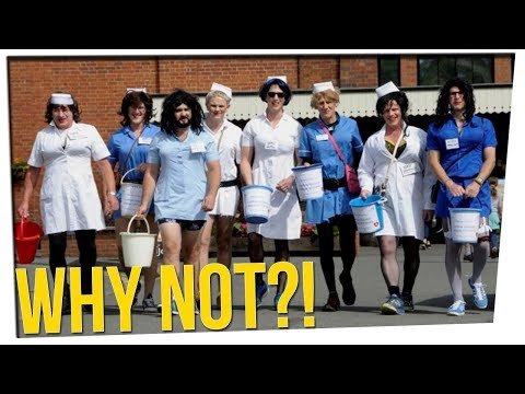Hospital Refuses Donations From Men Who Wore Sexy Nurse Outfits ft. Gina Darling