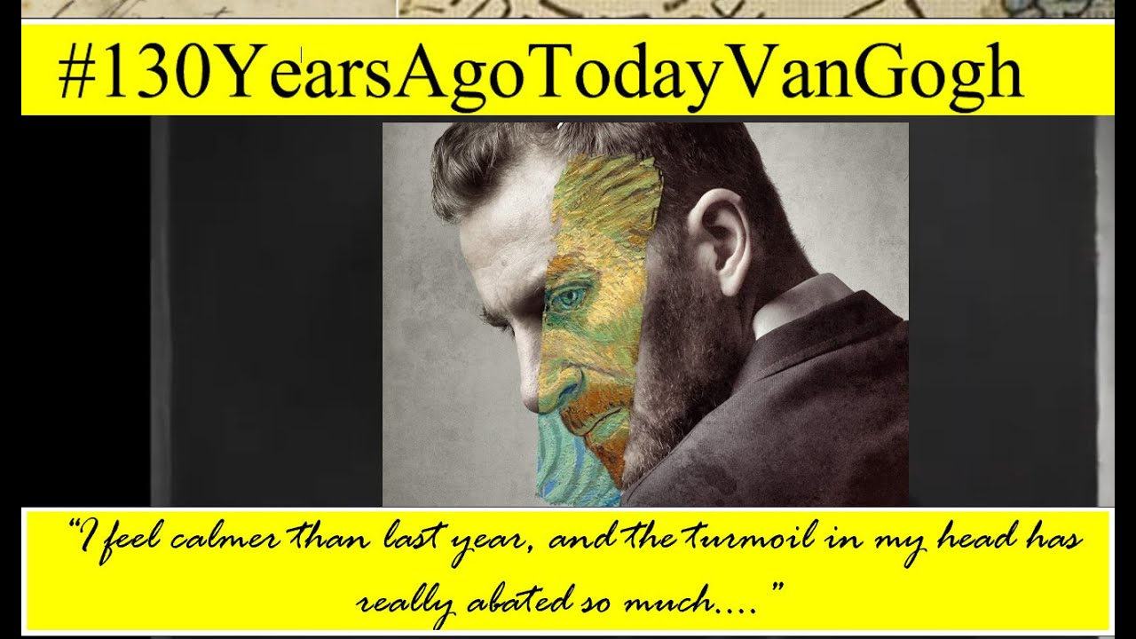 """""""The turmoil in my head has really abated so much..."""" - Vincent van Gogh #130YearsAgoTodayVanGogh"""