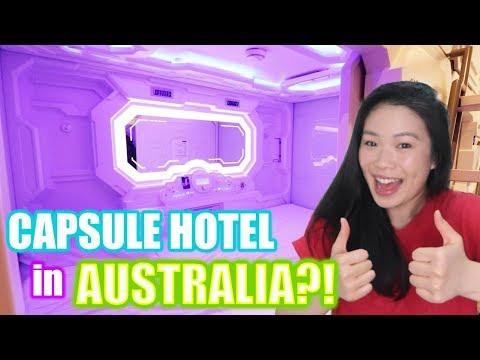 $50 SYDNEY CAPSULE HOTEL TOUR 2019 | LIVING In SYDNEY