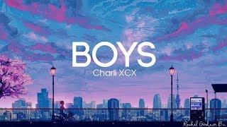 Charli XCX - Boys Lyrics