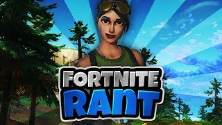Fortnite Rant : to many Glitches and Bugs