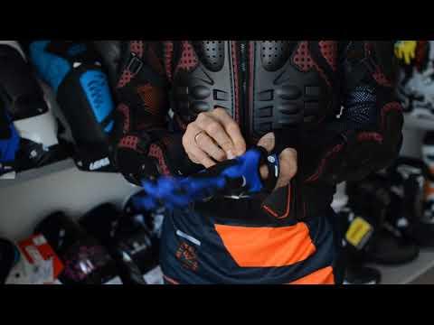 Мотоперчатки Scoyco MX47 Blue