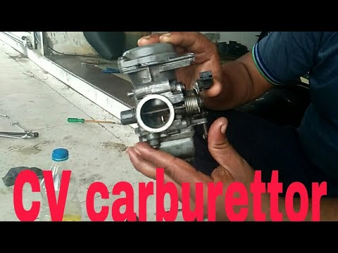 cv carburettor servicing and cleaning