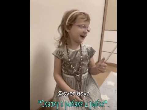 Девочка ,поразила своей речью