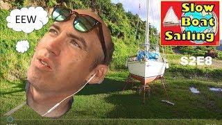 UNPREPARED TO GO TO SEA | Jungle of MOLD BUGS & MUD | ATUONA - HIVA OA S2E8 Slow Boat Sailing