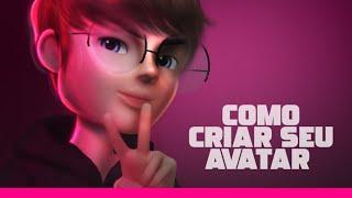 Como criar e animar o seu avatar 3D | nateoria #1