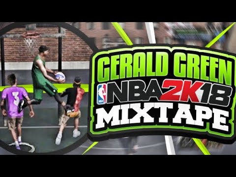 NBA DUNK CHAMPION GERALD GREEN ON NBA 2K18 PARK! FLASHIEST ALLEY OOPS, POSTERIZERS, & PARK DUNKS!