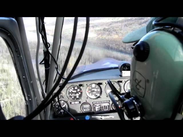 touch and go, citabria eklutna lake, AK (bold airstrip)