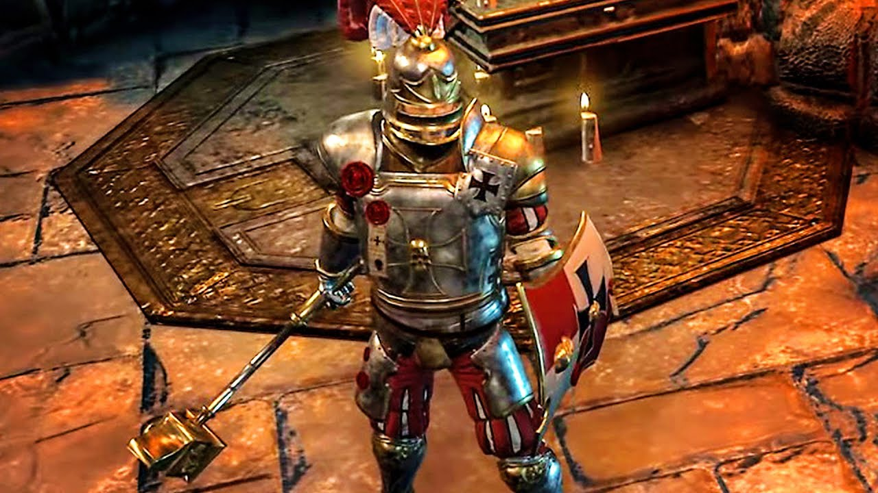 WARHAMMER CHAOSBANE Gameplay Capitaine de l'Empire (2019) PS4, Xbox One, PC