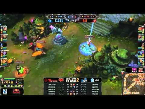 CLG.EU vs ReN game 3 Lone Star Clash 2