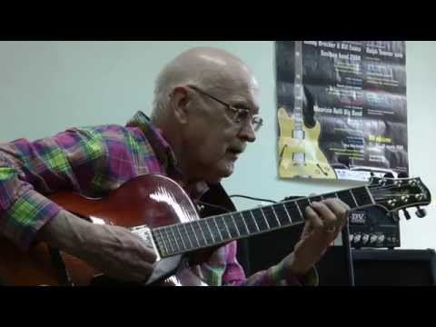 """Jim Hall Guitar Workshop @ Eddie Lang Jazz Festival - """"All The Things You Are"""""""