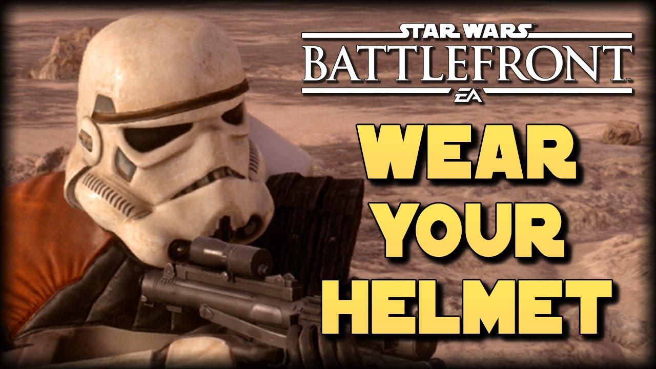 Wear Your Helmet Star Wars Battlefront Machinima Youtube
