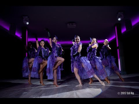 KulKat Entertainment- Purple Cabaret  Can-Can Show