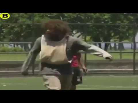 Falcao, el crack del futsal, se disfrazó...