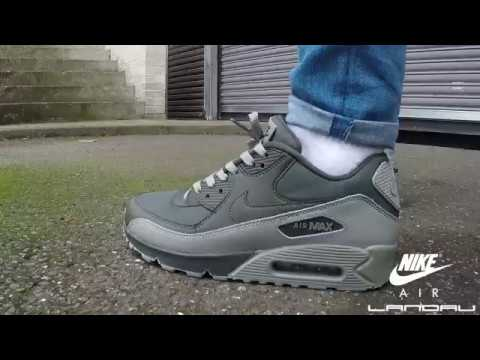 best loved 2e6d4 d3fd1 Nike Shoes Mens Air Max 90 Essential Sequioa Video   Landau Store