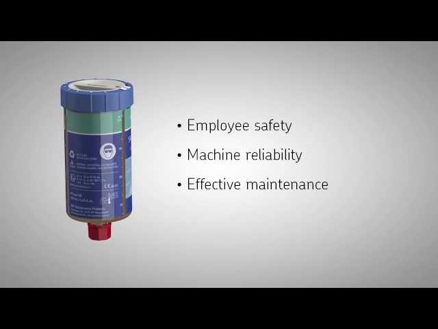 SKF Gas Driven Single Point Automatic Lubrication System