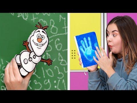10 DIY Frozen School Supplies / Weird Ways to Sneak Stress Relievers into Class