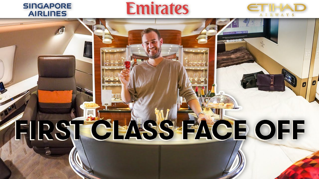 A380 First Class Comparison Singapore Airlines VS Emirates VS Etihad