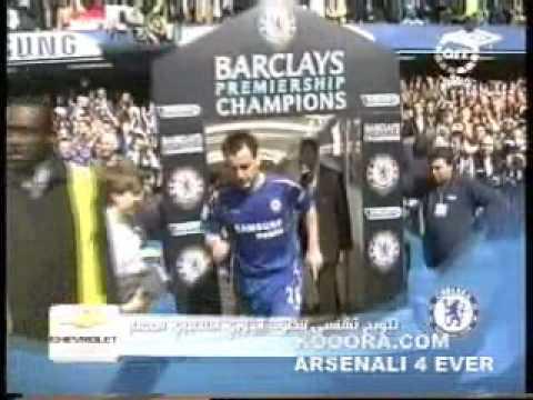 Chelsea Champions of 2005-2006 Premier League...Celebration