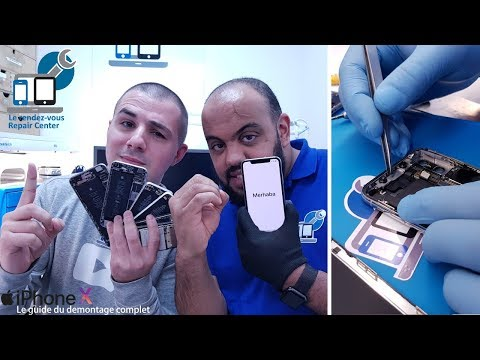 RDV Repair Center    Guide démontage iPhone X et 10 ans d'iPhone