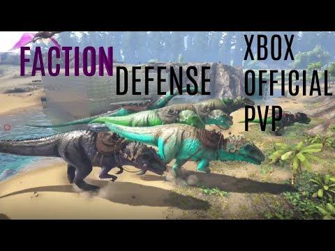 Faction ARK Xbox Official PvP Defense
