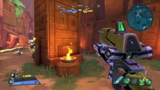 Battleborn- Juggernaut Melka! (Max Health Regen)