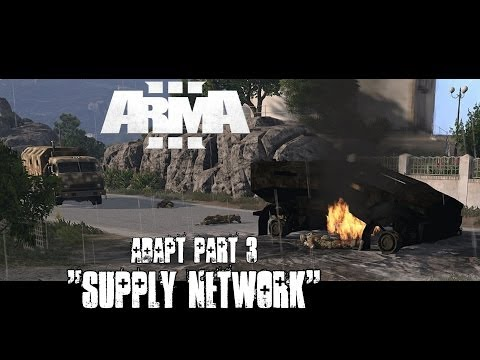 "Adapt Part 3 - ""Supply Network"" - ArmA 3 Campaign Playthrough - Voice Commands"