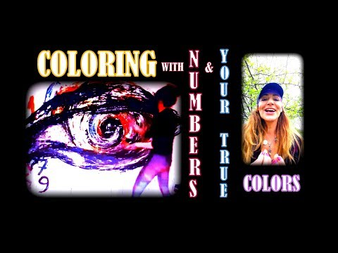 Numbers and Your True Colors How to use it in Doodling Coloring