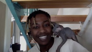 2MuchPeso Talks About His New Sphynx Cat