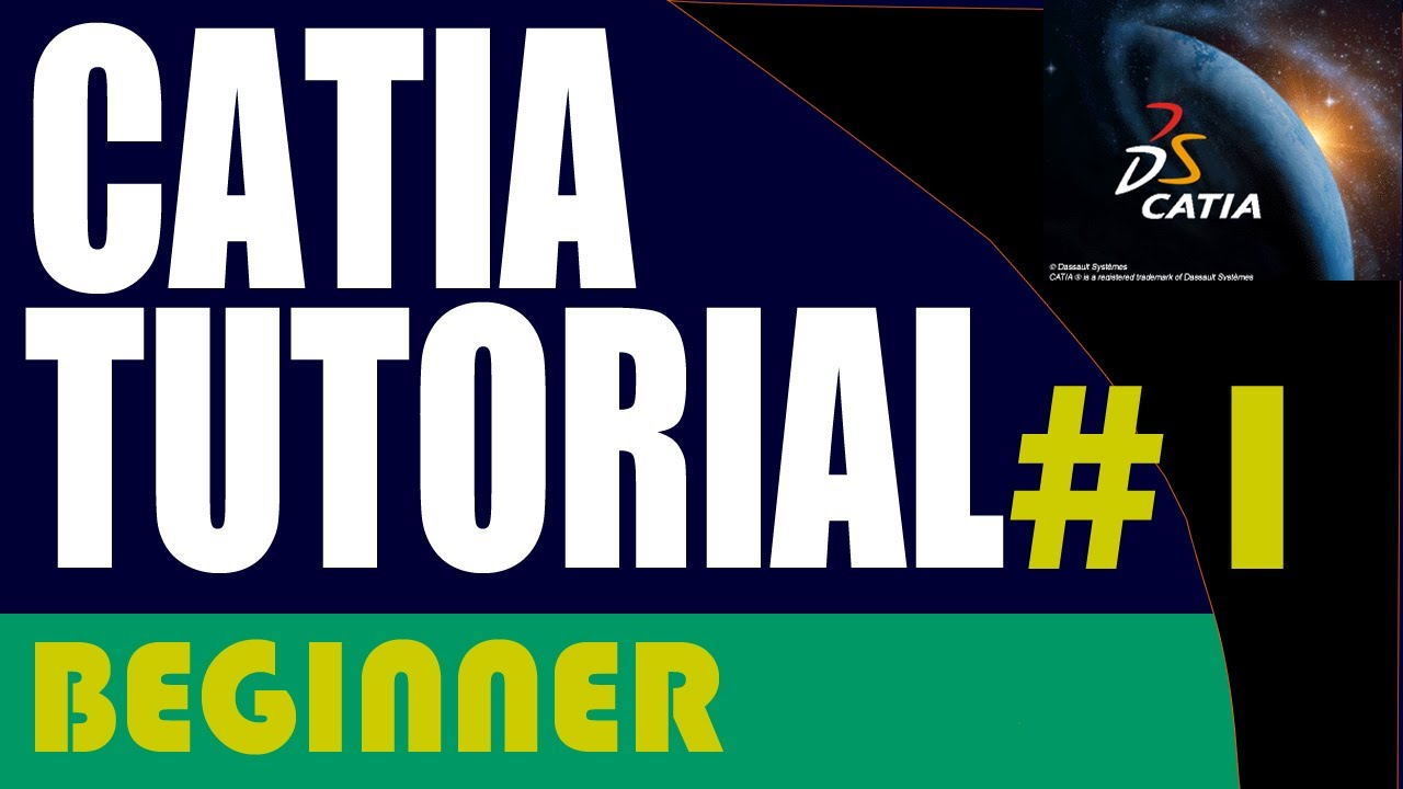 catia tutorial for beginners pdf