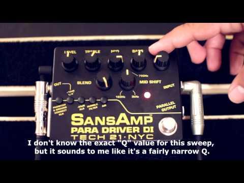 Tone Talk - SansAmp Para Driver DI Pedal Review