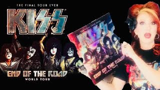 KISS End Of The Road Tour Anaheim CA Show Review And Merch Haul
