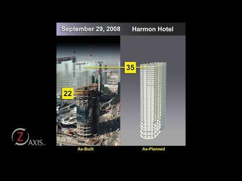 Harmon Hotel Construction Timelapse