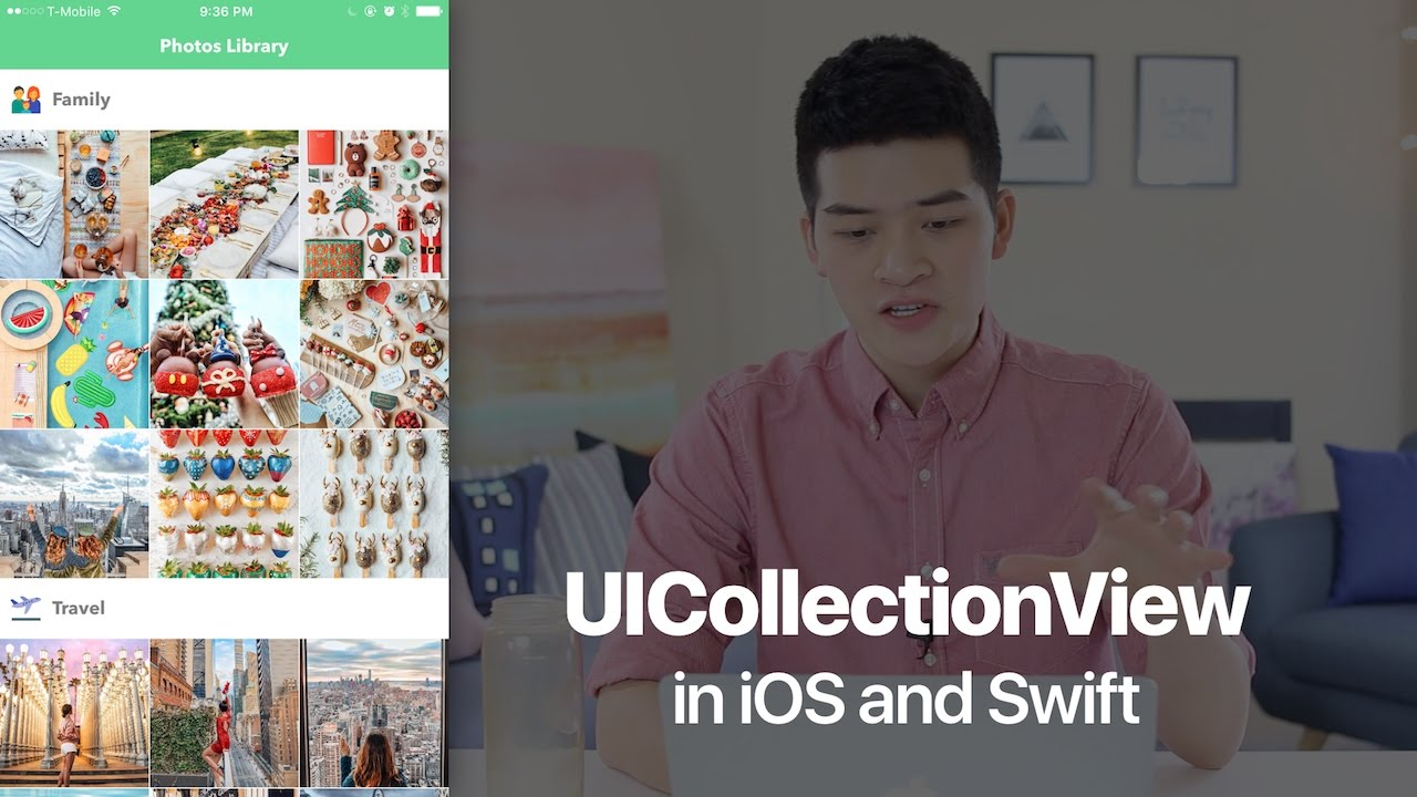 UICollectionView in iOS with Swift Tutorial