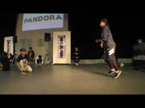 Chan kuro vs UKICK BEST64 / PANDORA vol.4 BREAK DANCE BATTLE