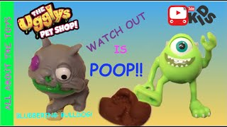 The Ugglys Pet Shop Blubbering Bulldog Surprise Poop All About The Toys