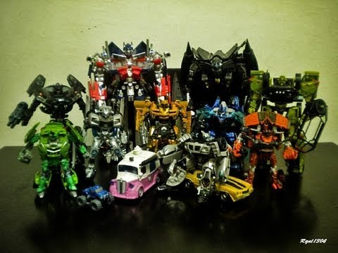 transformers rotf and tftm autobots collection youtube