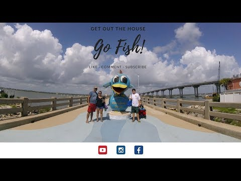 First Time Fishing At Vilano Beach Public Pier In St. Augustine Florida