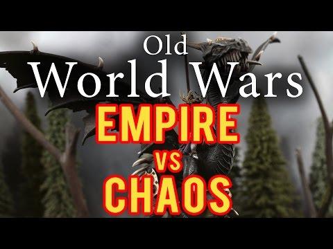 Empire vs Chaos Warhammer Fantasy Battle Report - Old World Wars Ep 215