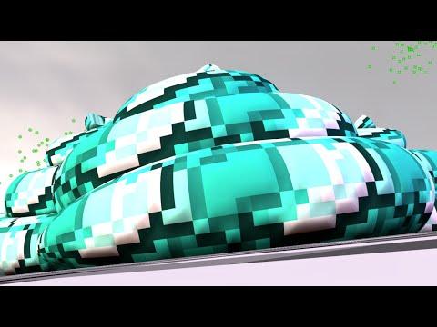 Minecraft: O PIOR DIAMANTE DO MUNDO! - Build Battle Minigame