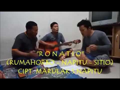 Trio parna ( RONATIO) RUMAHORBO - NAPITU - SITIO lg latihan