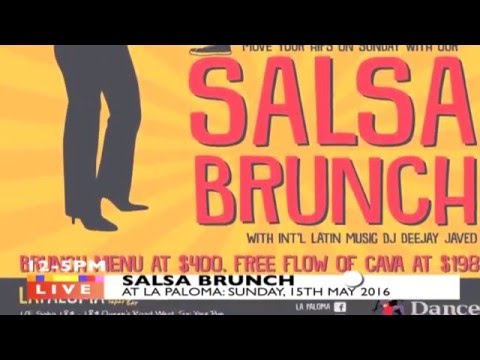 SUNDAY SALSA BRUNCH: HK'S ONLY DAY TIME SALSA PARTY