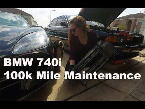 BMW E38 740i (DIY) Maintenance/Timing Chain Guide Rail Replacement