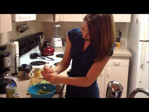 Starving Student Episode 2- Healthy Superbowl Snacks!!!