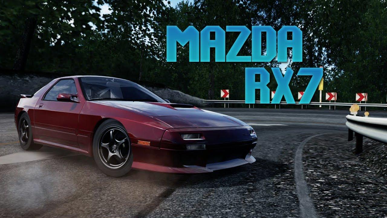 forza 4 drift build mazda rx7 fc youtube