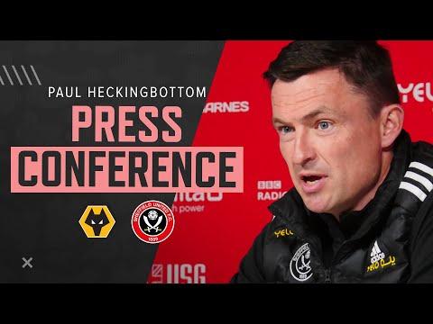 Paul Heckingbottom | Wolves v Sheffield United | Pre-match press conference