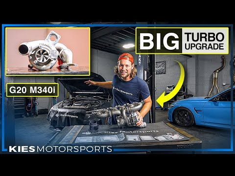 DIY: How to install a BIG TURBO on a BMW G20 M340i (Pure 800 Turbo on a B58 Step by Step guide)