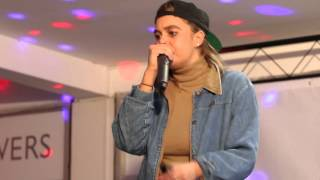 Kimmy Beatbox performing at Bramhall's Got Talent thumbnail