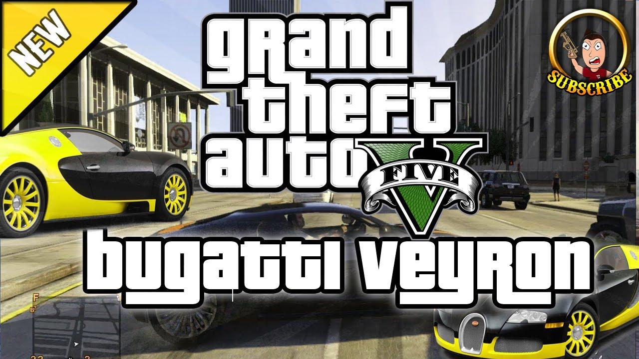 Grand Theft Auto 5 - How To Get Bugatti Veyron Secret ...